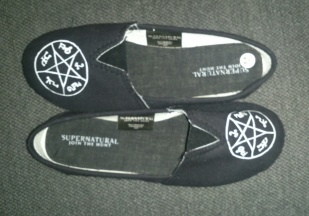 Supernatural shoes!
